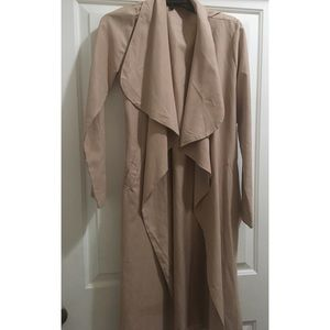 Jackets & Blazers - Blush Color Trench Coat One Size Fits Most